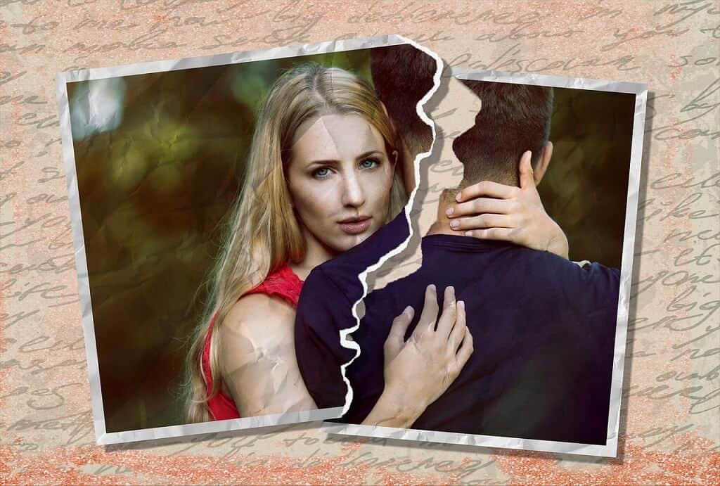Trennung von der Ex-Freundin