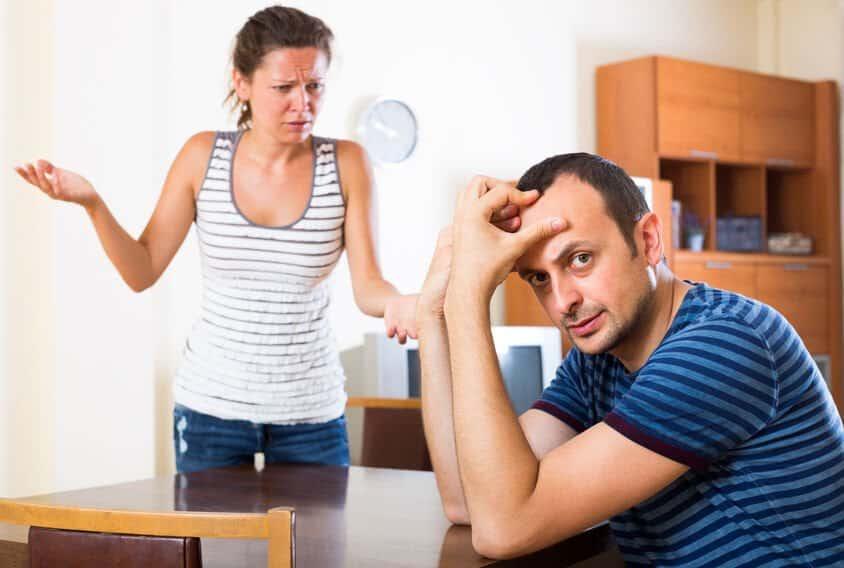 Shit-Tests Frau und Mann schreiten Tests Kompromisse
