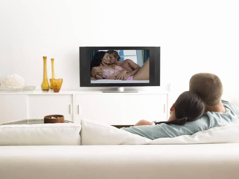 Pornos mit der Freundin gucken