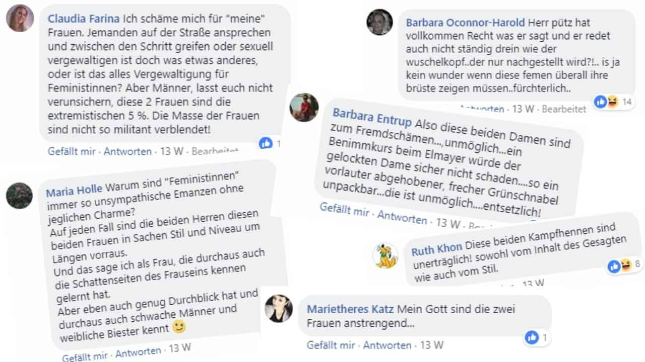 Kritik an Alexandra Stanic