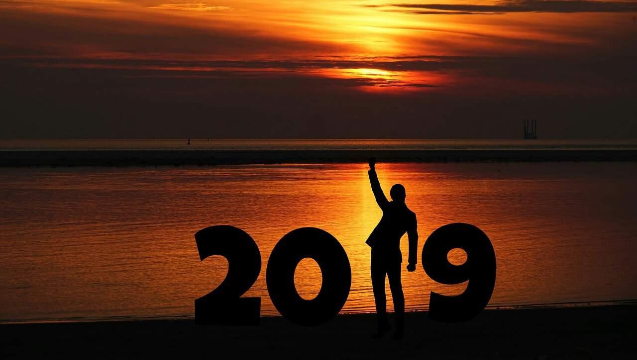 Neujahrsvorsätze. 2019 wird super.