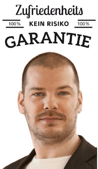 Garantie Maximilian Pütz Casanova coaching