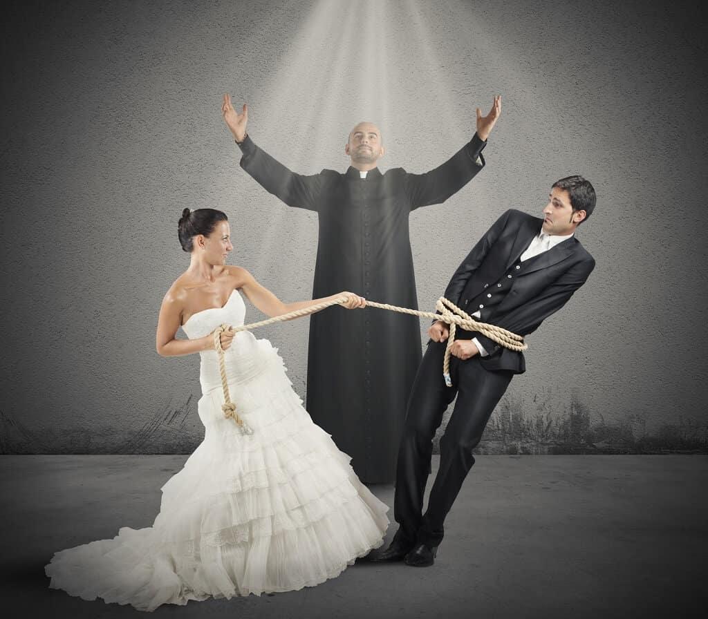 Eine Frau heiraten?
